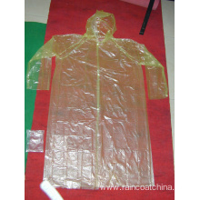 Top for Emergency PE Raincoat Adult Emergency Waterproof Disposable Raincoat supply to Spain Manufacturers